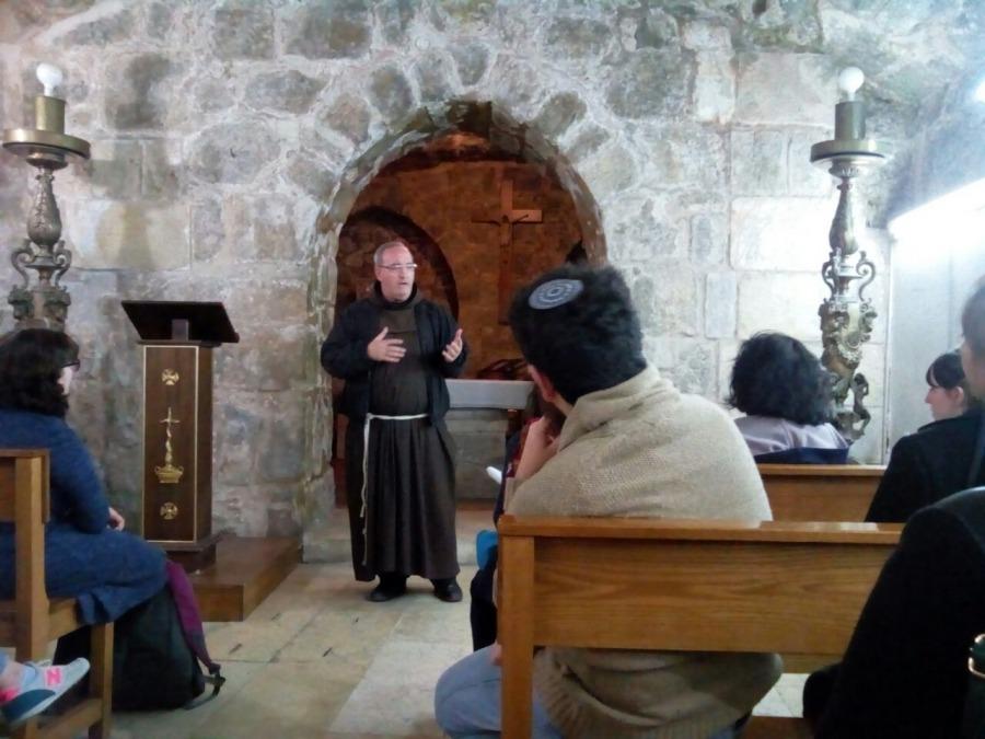הרצאה במסגרת קורס קהילות דתיות והמרחב הדתי בירושלים בימינו תשעז