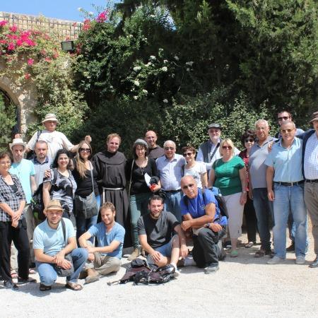 סיור למנזר לטרון בקורס של פינו דה לוציו, 2016